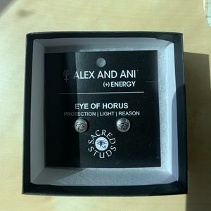 Alex and Ani eye of hours earings
